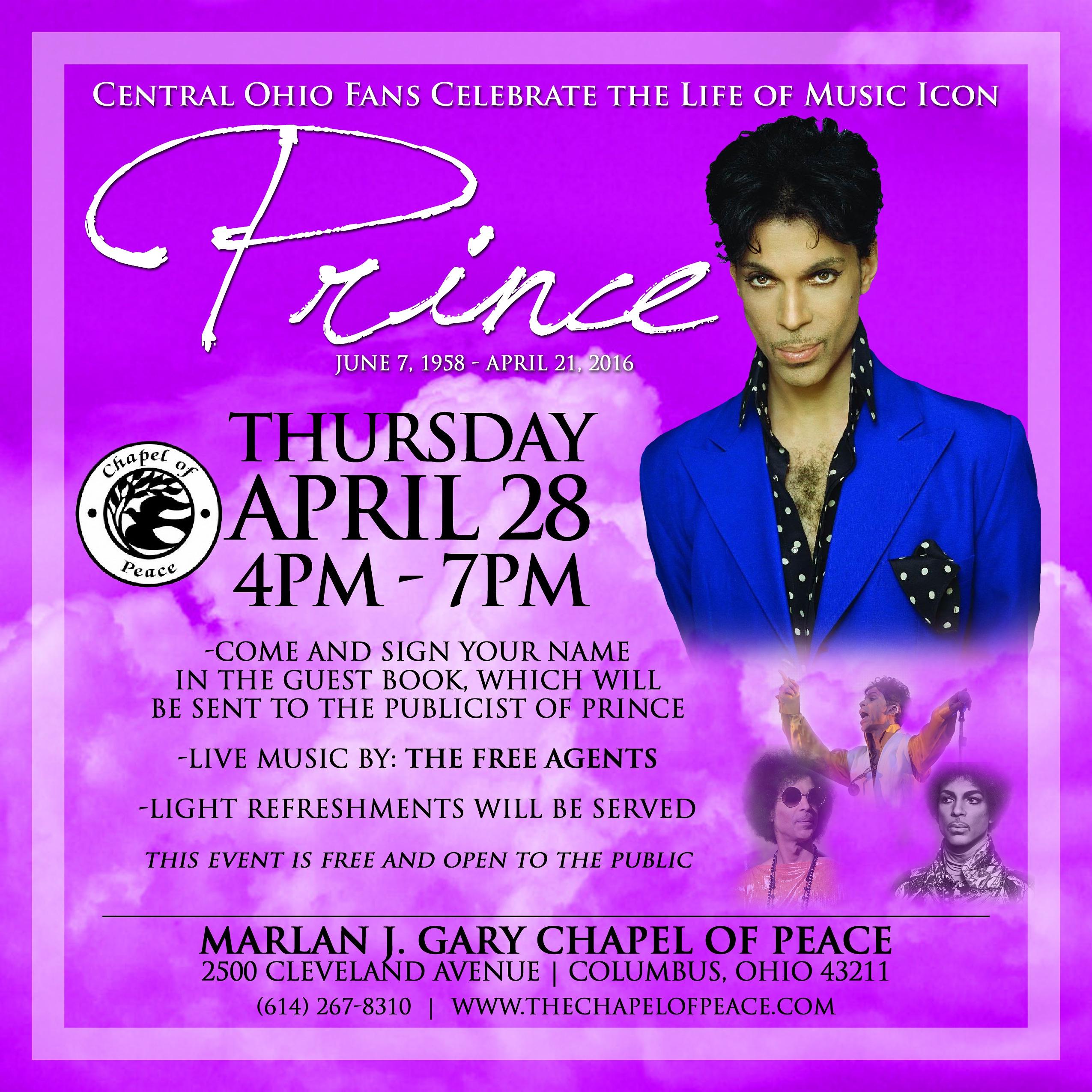 Celebration of Prince