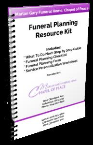 columbus funeral cremation resource kit marlan j gary funeral home
