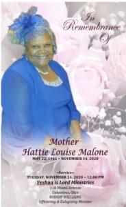 Malone Hattie Program