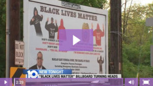 WBNS-10: Billboard Sparks Conversation And Police Frustration